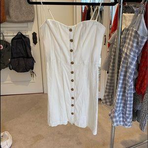 Urban Outfitters White Mini Dress